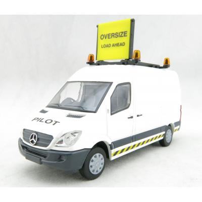 Conrad 1613/0 Australian Mercedes Benz Sprinter Escort Pilot Van Oversize Loads  Diecast Scale 1:50