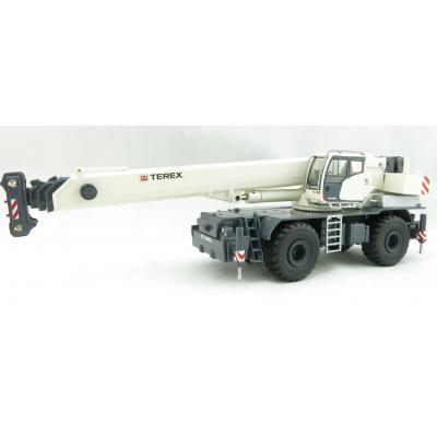 Conrad 2115/0 TEREX RT90 2-axle Rough Terrain Mobile Telescopic Crane - Scale 1:50