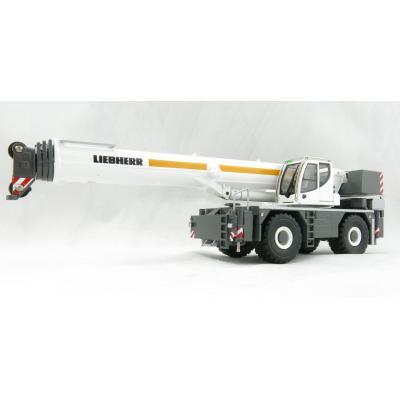Conrad 2118/0 Liebherr LRT 1100 2.1 2 axle Rough Terrain Mobile Telescopic Crane - Scale 1:50