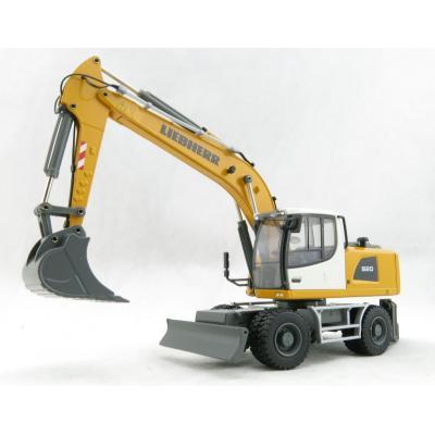 Conrad 2217/0 - Liebherr A 920 IIIA Mobile Wheeled Excavator New 2019 - Scale 1:50