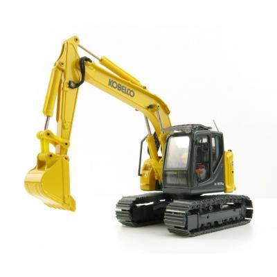 Conrad 2220/01 - Kobelco SK 140 SRLC-7 Hydraulic Tracked Excavator - New 2021 - Scale 1:50