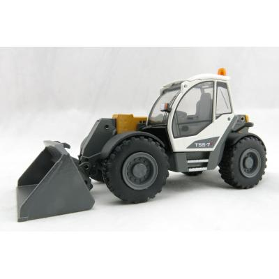 Conrad 2542/0 Conrad Liebherr T55-7s Telescopic Loader with 2 attachments - Scale 1:50