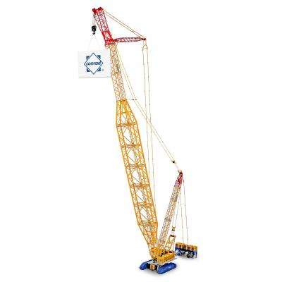 Conrad 2745/0 Large Demag CC 8800 BoomBooster Crawler Crane - Demag Livery - Scale 1:50