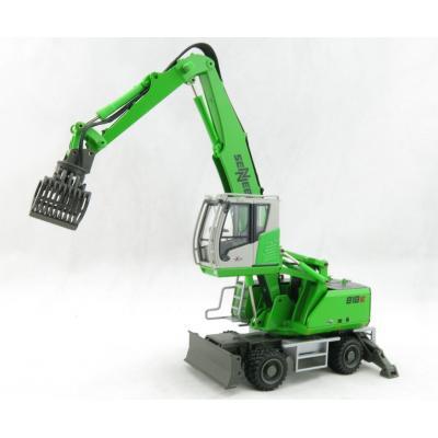 Conrad 2944/01 - Sennebogen 818E Material Handling Mobile Excavator maXcab New 2019 - Scale 1:50