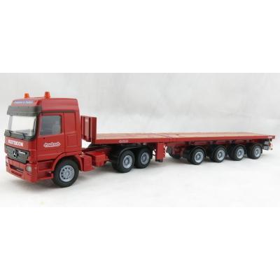 Conrad 40145/0 Mercedes-Benz Actros 6x4 truck with 4-axle Nooteboom 3XL Tele Trailer Scale 1:50