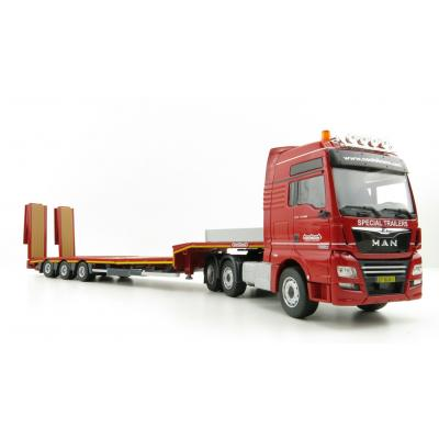 Conrad 76230/0 MAN TGX XXL 6x2 with Nooteboom MCOS-48-03EB Semi Lowloader - Scale 1:50