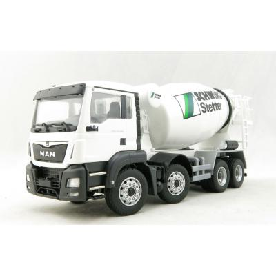 Conrad 77131/01 MAN TGS M 4-axle Truck with C-Version Concrete Mixer Stetter Scale 1:50
