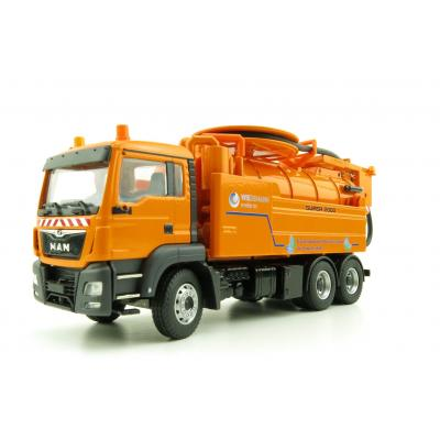 Conrad 77154/02 MAN TGS Euro 6 Truck with WIEDEMANN Enviro Tec Super 2000 Sewer Cleaning Scale 1:50