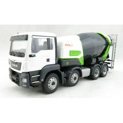 Conrad 77235/0 MAN TGS 4-axle Truck with CIFA Energy E8-E9 Concrete Mixer - Scale 1:50