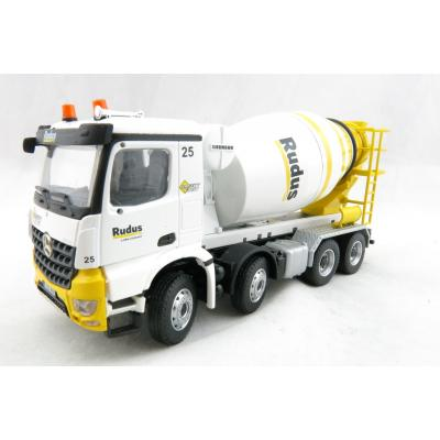 Conrad 78119/05 Mercedes Benz Arocs 4-axle Truck with Liebherr HTM 904 Concrete Mixer RUDUS Estonia Scale 1:50