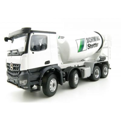 Conrad 78131/01 Mercedes Benz Arocs 4-axle Truck with C-Version Concrete Mixer Stetter Scale 1:50