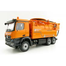 Conrad 78154/02 Mercedes Benz Arocs Truck with WIEDEMANN Enviro Tec Super 2000 Sewer Cleaning Scale 1:50