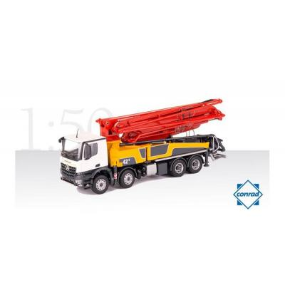 Conrad 78199/0 Mercedes Benz Arocs 4-axle Truck with Putzmeister M42-5RZ Concrete Pump Scale 1:50