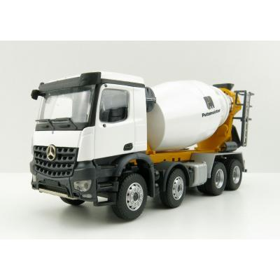 Conrad 78226/04 Mercedes Benz Arocs 4-axle Truck with P 9 PUTZMEISTER Concrete Mixer Scale 1:50