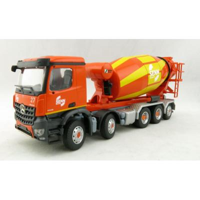 Conrad 78240/0 Mercedes Benz Arocs 5-axle Truck with Schwing-Stetter Concrete Mixer Scale 1:50