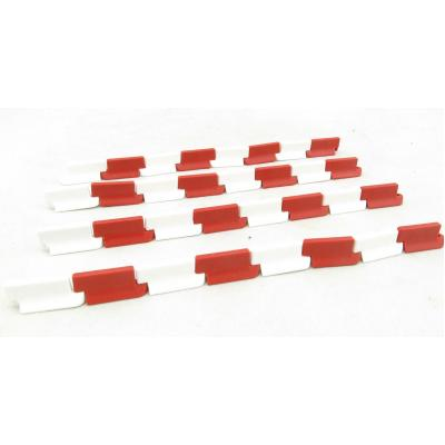 Conrad 99824/0 Lane Dividers Red White Accessory Pack Scale 1:50