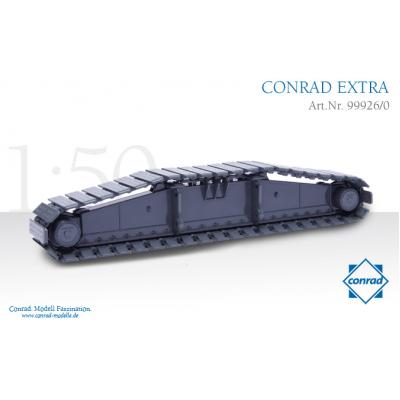 Conrad 99926/0 Large Liebherr Crawler Carrier LR 1750 Heavy Haulage Load Diecast - Scale 1:50