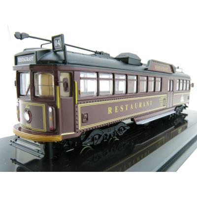 Cooee Static W6 CLASS DIECAST MELBOURNE TRAM TRAM RESTAURANT No. 938 BELA 1:76