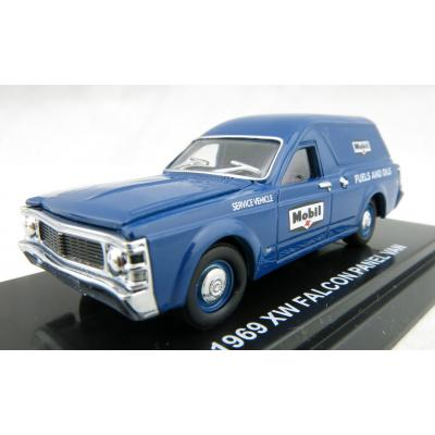 Road Ragers - 1969 Ford Falcon XW Panel Van Mobilgas Fuels and Olis - Scale 1:64