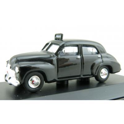 Road Ragers - Australian 1948 Holden FX sedan - Police car black - H0 Scale 1:87