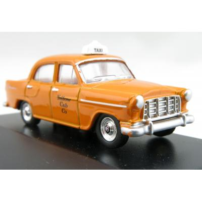 Road Ragers - Australian 1958 Holden FC Sedan - Yellow Cab Co. - H0 Scale 1:87