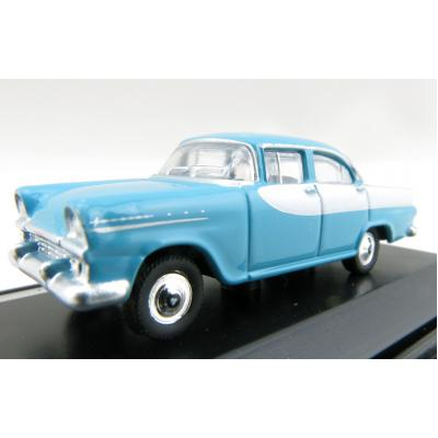 Road Ragers - Australian 1961 Holden EK Special Sedan - Turquoise / White - H0 Scale 1:87