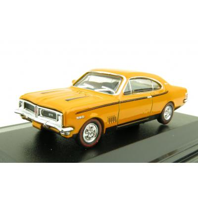 Road Ragers Australian 1970 Holden Monaro HG GTS Coupe Muscle Car in Indy Orange in H0 Scale 1:87