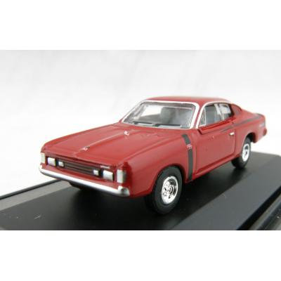 Road Ragers - Australian 1972 Valiant Chrysler R/T Charger Muscle Car - Hemi Red - H0 Scale 1:87
