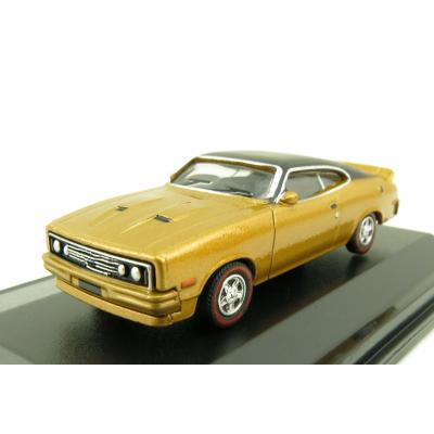Road Ragers - Australian 1979 Ford XC GS Falcon Coupe Muscle Car - Gold Dust - H0 Scale 1:87