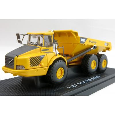 Road Ragers - Volvo A40D Articulated Dump Truck Australian Constrution & Demolition Company - Scale 1:87