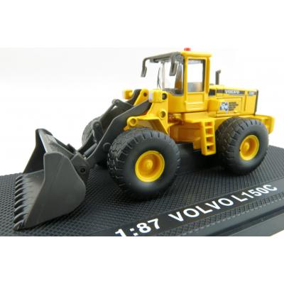 Road Ragers - Volvo L 150C Four wheel Loader Australian Constrution & Demolition Company - Scale 1:87