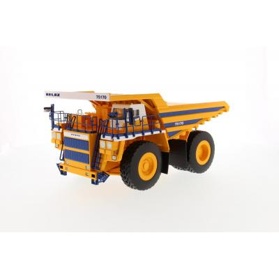 BELAZ 75170 Mining Dump Truck Yellow Body - Scale 1:50