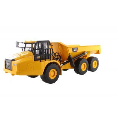 Diecast Masters 25004 - RC Remote Controlled CAT Caterpillar 745 Articulated Dump Truck - Scale 1:24
