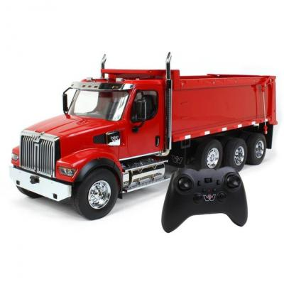 Diecast Masters 27007 - RC Remote Controlled RC Western Star 49X SFFA Dump Truck - Scale 1:16