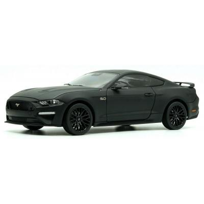 Diecast Masters 61006 Ford 2019 RH Drive Mustang Matte Black - 1:18 Scale