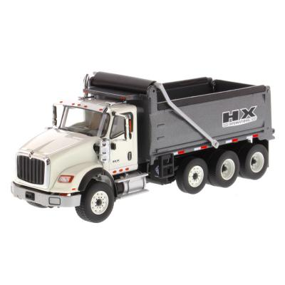 Diecast Masters 71013 - International HX620 Dump truck White - Scale 1:50
