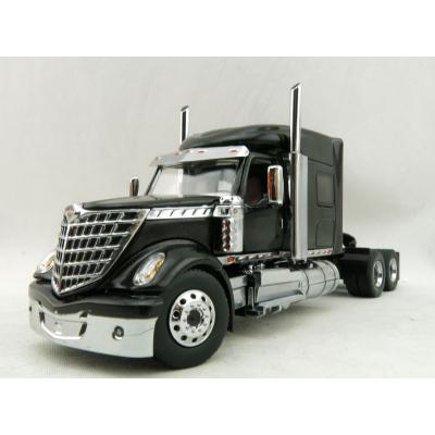 Diecast Masters 71023 - International LoneStar Sleeper Cab Truck Black - Scale 1:50