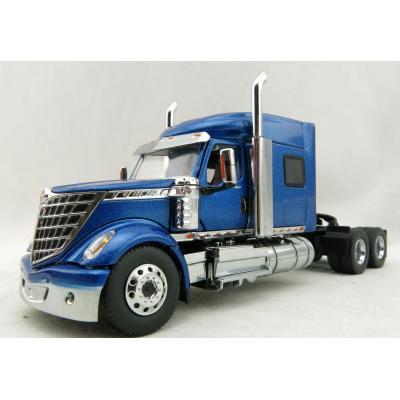 Diecast Masters 71026 - International LoneStar Sleeper Cab Truck Blue Metallic - Scale 1:50