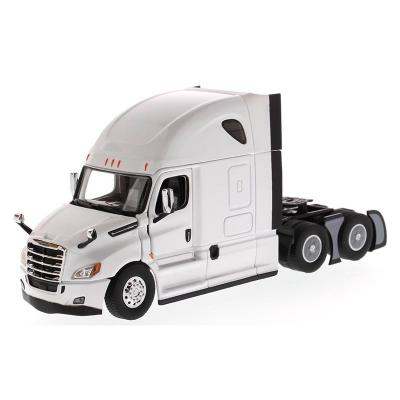 Diecast Masters 71027 - Freightliner New Cascadia with Sleeper Cab Truck Pearl White - Scale 1:50