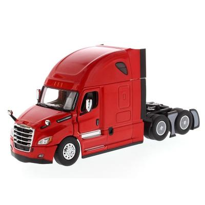 Diecast Masters 71029 - Freightliner New Cascadia with Sleeper Cab Truck Red - Scale 1:50