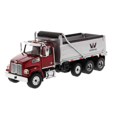 Diecast Masters 71032 - Western Star 4700 SF Dump Truck Red - Scale 1:50