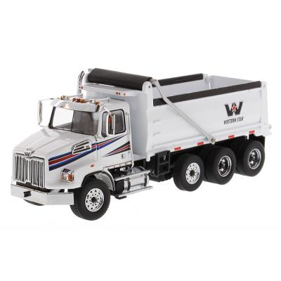 Diecast Masters 71034 - Western Star 4700 SB Dump truck White - Scale 1:50