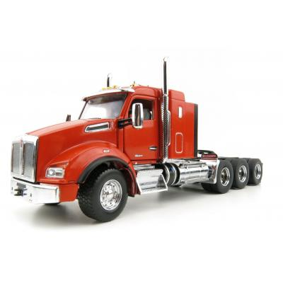 Diecast Masters 71057 - Kenworth T880 Tridem Orange SBFA 40 Sleeper Prime Mover Scale 1:50