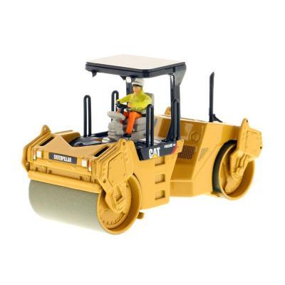 Diecast Masters 85132 - Caterpillar CAT CB-534D XW Vibratory Asphalt Compactor Roller - Scale 1:50