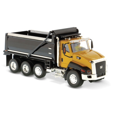 Diecast Masters 85290 - Caterpillar CAT CT 660 Dump Truck - Yellow - Scale 1:50