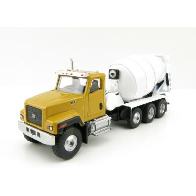 Diecast Masters 85512 - CAT Caterpillar CT681 Concrete Mixer Truck - Scale 1:87