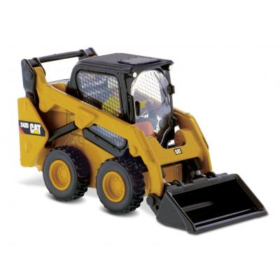 Diecast Masters 85525 - Caterpillar CAT 242D Compact Skid Steer Loader High Line Series - Scale 1:50