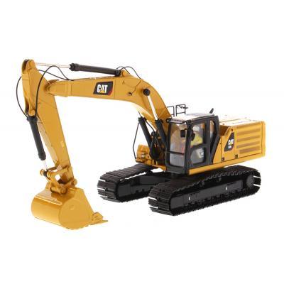Diecast Masters 85586 - Caterpillar CAT 336 Next Generation Hydraulic Excavator - High Line Series - Scale 1:50