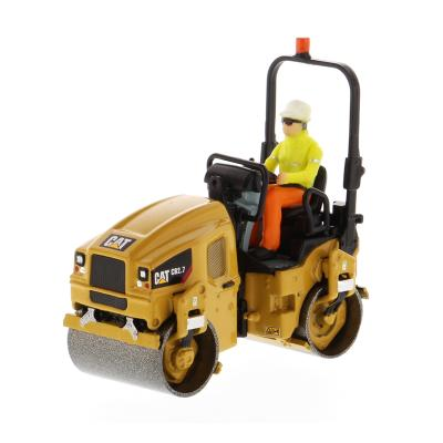 Diecast Masters 85593 - Caterpillar CAT Small CB-2.7 Utility Compactor Roller - Scale 1:50