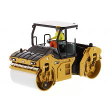 Diecast Masters 85594 - Caterpillar CAT CB-13 Tandem Vibratory Roller with ROPS - Scale 1:50